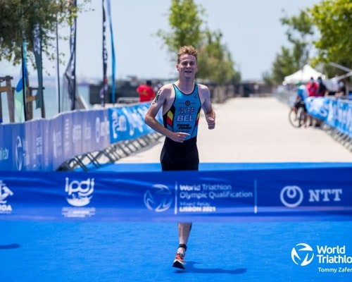© 2021 World Triathlon Mixed Relay Olympic Qualification Event Lisbon